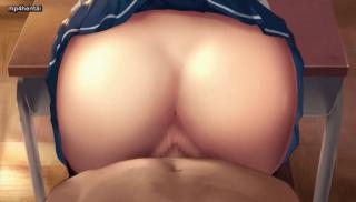 Butt in classroom